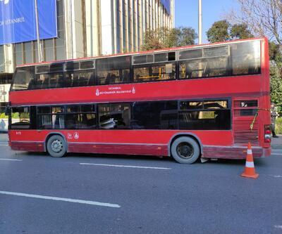 Çift katlı İETT otobüsü kaza yaptı: 1 ölü, 1 yaralı