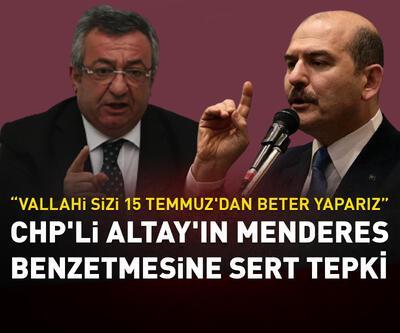 CHP'li Altay'ın Menderes benzetmesine tepki