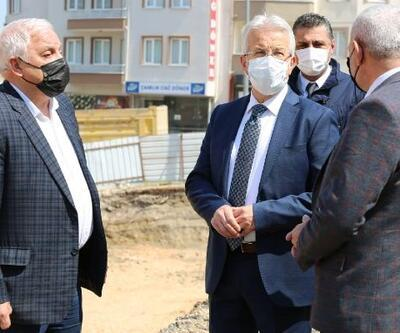 Nilüfer'de Üçevler Mahallesi kapalı pazar yerine kavuşacak