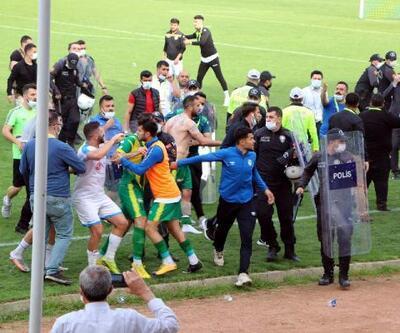 Siirt'te maçta çıkan olayda 1 kişi yaralandı