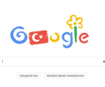 Google 23 Nisan'ı kutladı