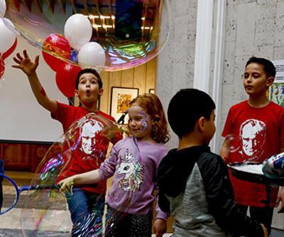 Rusya'da 23 Nisan Ulusal Egemenlik ve Çocuk Bayramı coşkuyla kutlandı