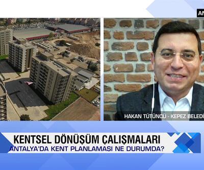 Kepez'de kentsel tasarım projeleri, tarımsal üretim, kentleşmede salgın etkileri ve Siirt'te yerel projeler