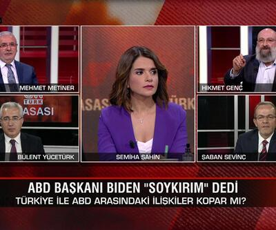 """Biden neden """"soykırım"""" dedi? Kime ne mesaj verdi, sözleri ne anlama geliyor? CNN TÜRK Masası'nda tartışıldı"""