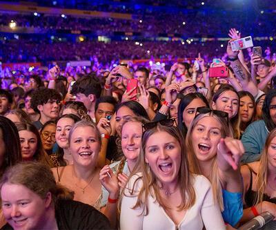 2021 yılında 50 bin kişilik konser