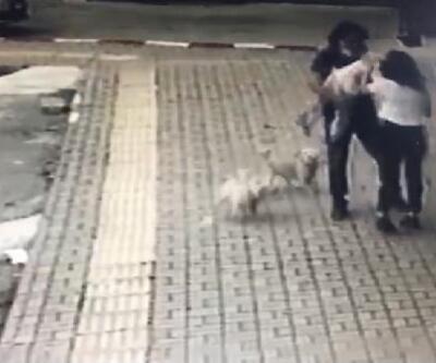 Dili boğazına kaçan çocuğu kurtardığı anlar kamerada