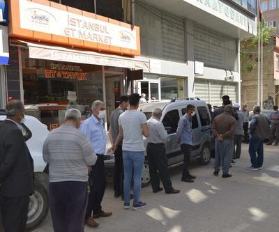 Adıyaman'da çiftçiler, izin belgesi için kuyruğa girdi