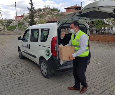 Turhal Belediyesi'nden ihtiyaçlılara ramazan yardımı