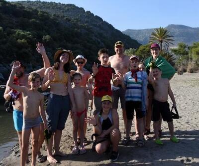 Çocuklarla doğada tatil