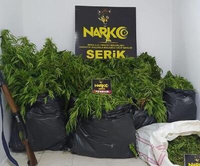 Serik'te uyuşturucu operasyonu: 7 gözaltı