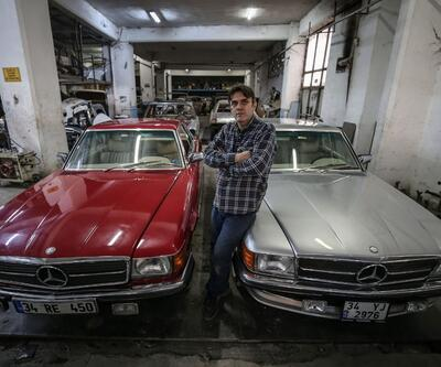 Klasik otomobilleri 3 kuşaktır hurdadan sanat eserine dönüştürüyorlar!