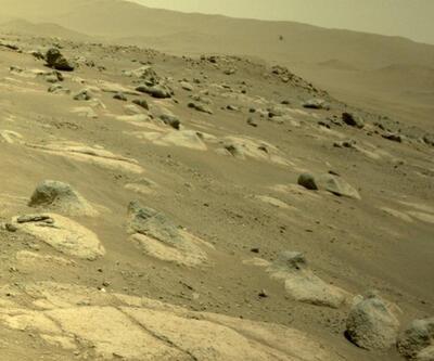 NASA paylaştı: Mars helikopteri 4.uçuşunu 117 saniyede tamamladı