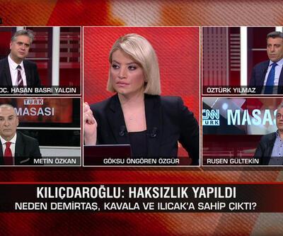 Kılıçdaroğlu neden Demirtaş, Kavala ve Ilıcak'a sahip çıktı? Türkiye seçime mi zorlanıyor?CNN TÜRK Masası'nda konuşuldu