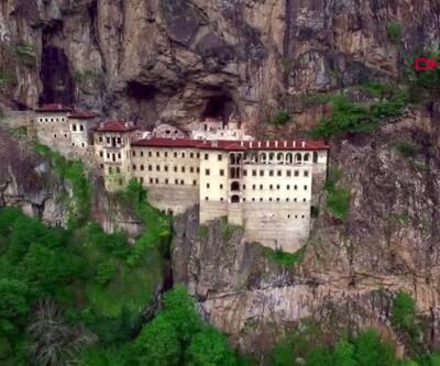 Sümela Manastırı'nda sona gelindi