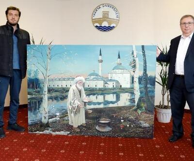 Aşçı Yahya Baba tablosu, Sultan II. Bayezid Külliyesi'nde sergilenecek