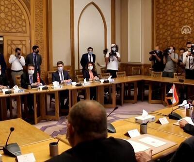 SON DAKİKA: Türk heyeti ile Mısır tarafı arasındaki görüşme başladı