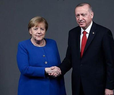 SON DAKİKA HABERİ: Cumhurbaşkanı Erdoğan, Merkel ile görüştü