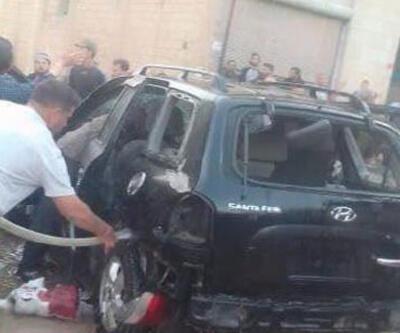 Afrin'de teröristlerden hain saldırı!