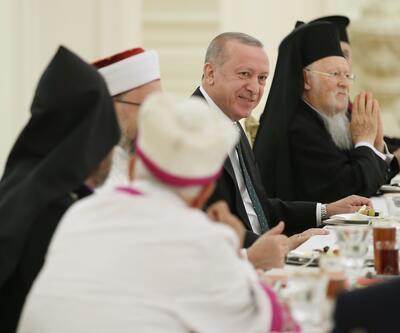Erdoğan, azınlık cemaat temsilcileriyle iftarda bir araya geldi