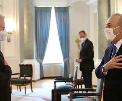 Dışişleri Bakanı Çavuşoğlu, Almanya Cumhurbaşkanı Steinmeier'la görüştü