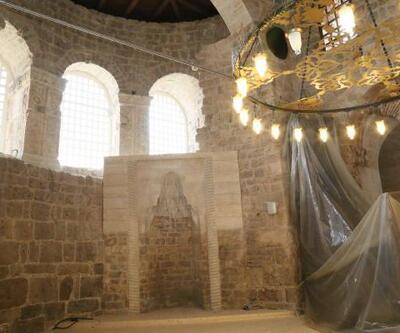 Yanan Osmanlı eseri cami, 125 yıl sonra ibadete açılıyor
