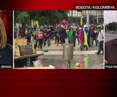 CNN International muhabiri aktardı: Kolombiya'da neler oluyor?