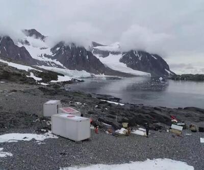 Antarktika'da kalıcı üs çalışması