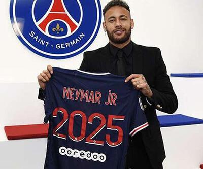 Neymar'dan 4 yıllık imza