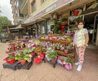 Edirne'de çiçekçilerin 'Anneler Günü' mesaisi