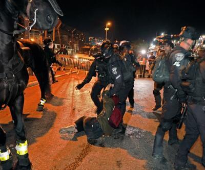 İsrail polisi yine saldırdı