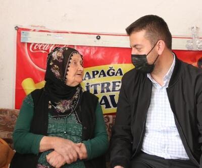 Başkan Aktürk, hayırsever ve şehit annelerini ziyaret etti