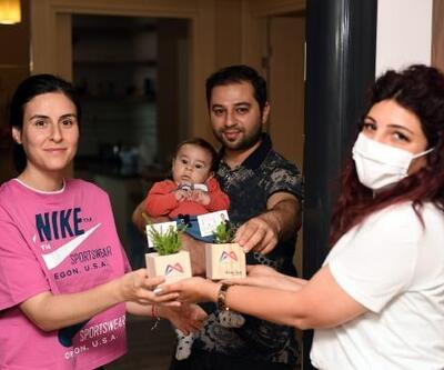 Mersin'in annelerine Büyükşehir'den hediye