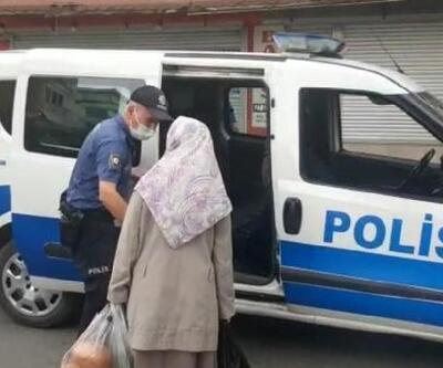Polis ekiplerinden takdir toplayan davranış