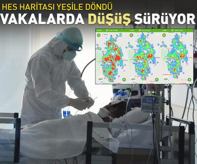 Eskişehir'de sağlıkçıları sevindiren vaka düşüşü