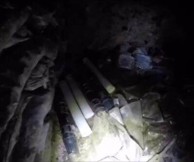MSB: Rehine odası bulunan mağara tespit edildi