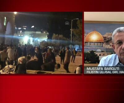 Filistinli lider Mustafa Barguti CNN TÜRK'te