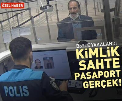 Kimlik sahte, pasaport gerçek! Kaçak yolcu böyle yakalandı