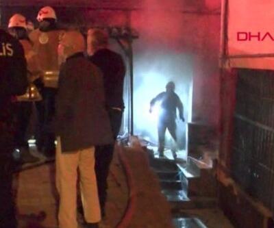Beykoz'da işyeri yangını... Yanan iş yerinin sahibi akrabasını suçladı