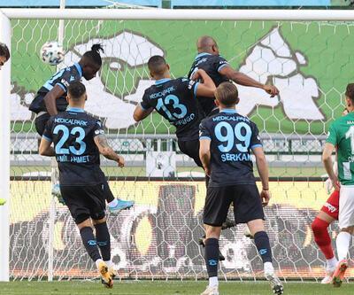 Konyaspor - Trabzonspor: 1-1