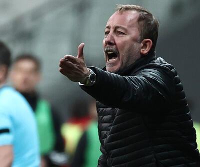 Sergen Yalçın: Rakip 10 kişiyken yenilen gol bizi çok üzdü