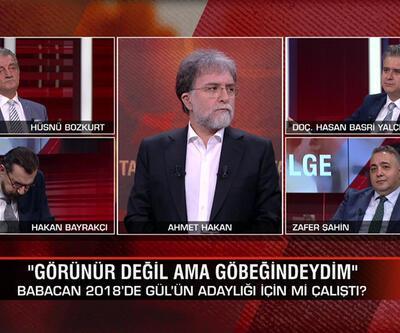 Babacan 2018'de Gül'ün adaylığı için mi çalıştı? 2023 mü, yoksa erken seçim mi? Tarafsız Bölge'de konuşuldu