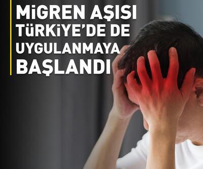 Migren tedavisinde yurt dışında kullanılan aşılar Türkiye'de uygulanmaya başlandı