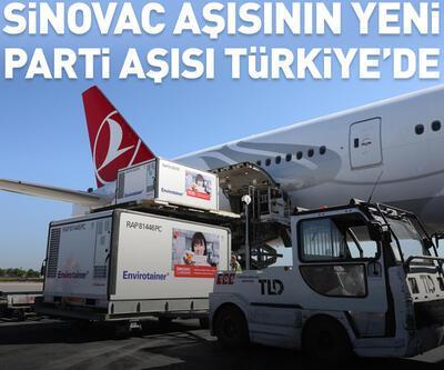 Sinovac aşısının yeni partisi Türkiye'ye geldi
