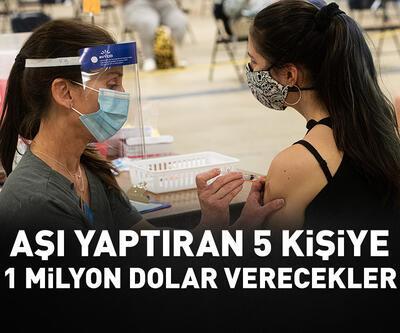 Aşı yaptırana piyango: 1 milyon dolar verecekler