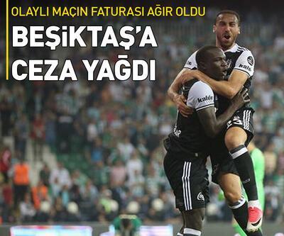 Beşiktaş'a ceza yağdı