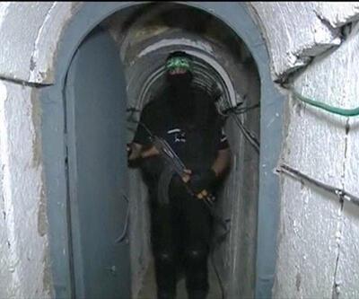 İsrail Gazze'de tünelleri vurdu