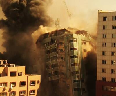 Son dakika... İsrail, Gazze'de AP ve Al Jazeera'nın da ofislerinin bulunduğu basın kuruluşlarının binasını vurdu