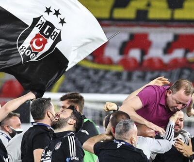 Sergen Yalçın tarihe geçti! Beşiktaş'ta bir ilk