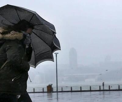 Bazı bölgelere kuvvetli rüzgar ve sağanak uyarısı|