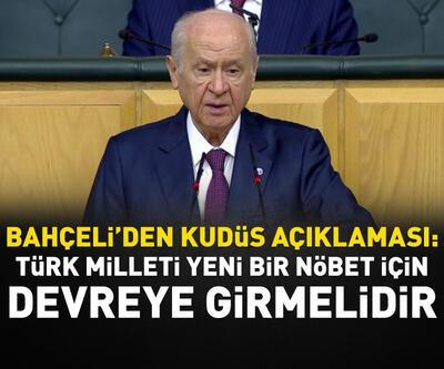 Bahçeli: Türk milleti yeni bir nöbet için devreye girmelidir